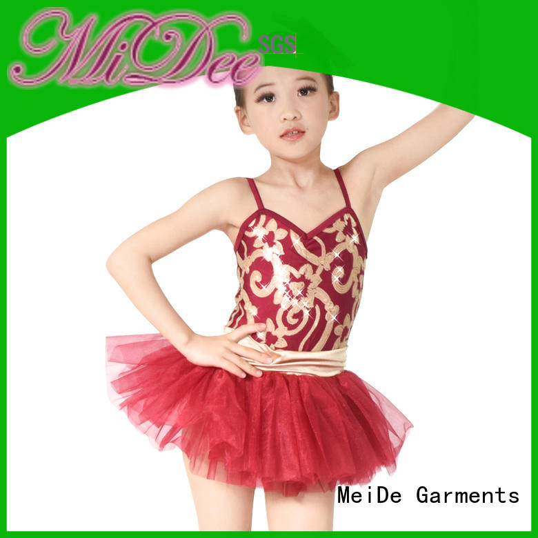MIDEE Breathable dance performance wear supplier events