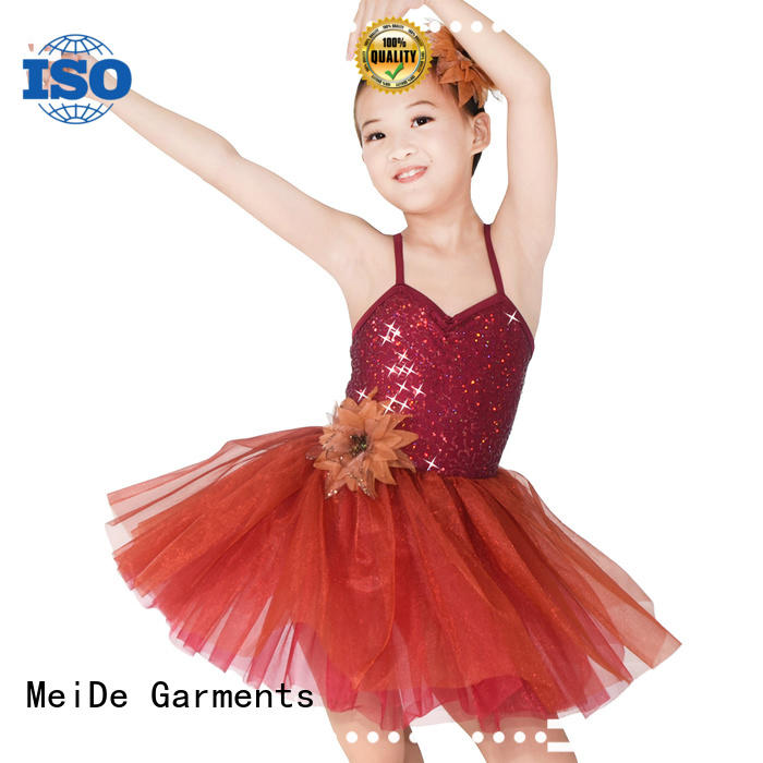 MIDEE anti-wear toddler ballet clothes factory price dancer