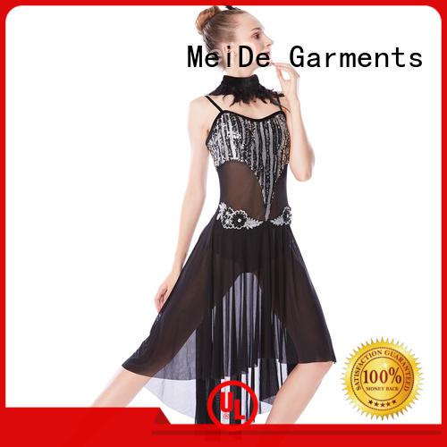 MIDEE top adult dance clothes custom competition