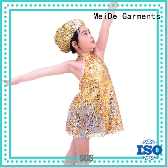 MIDEE sequined jazz outfits manufacturer show