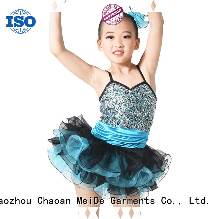 MIDEE wide girls ballet costume factory price performance