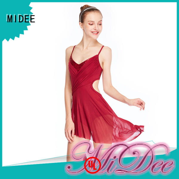 customization custom lyrical dance costumes pleated custom stage