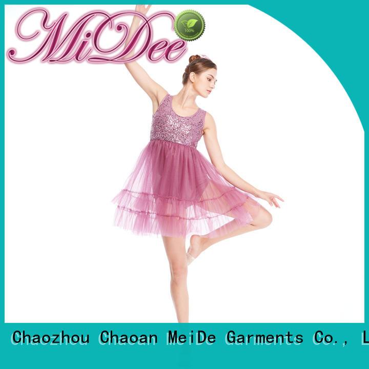 MIDEE costume lyrical dance dresses custom show