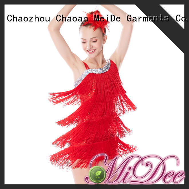 MIDEE jazz solo costumes for wholesale competition