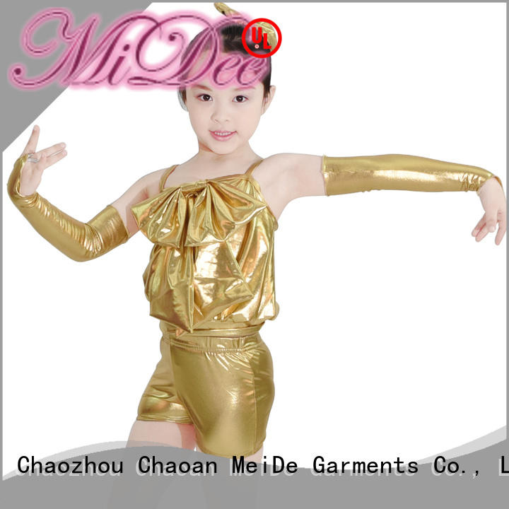sequins jazz costumes for kids customization dancer MIDEE