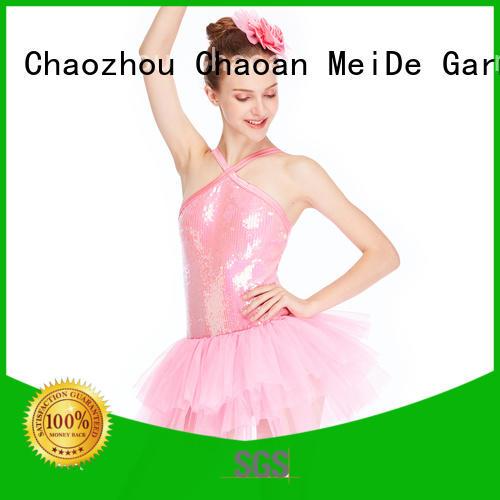 MIDEE adjustable ballet dresses for girl bulk production show