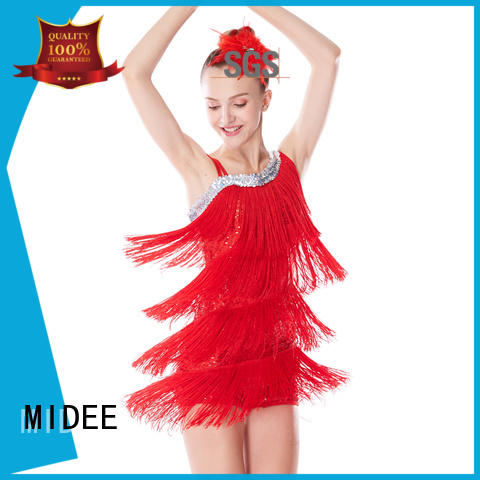 MIDEE top jazz dance outfits for wholesale performance