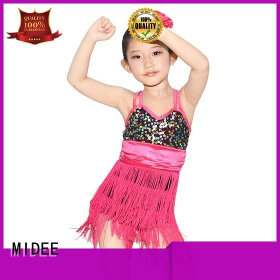 MIDEE performance jazz outfits customization Stage