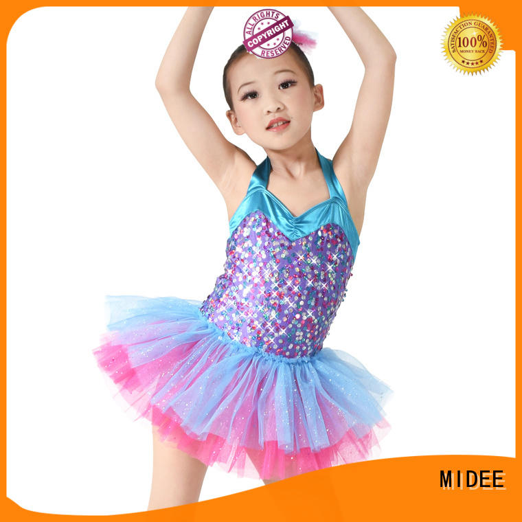 MIDEE comfortable toddler ballet leotards bulk production performance