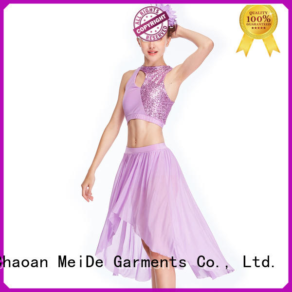 MIDEE tassel dance costumes lyrical custom stage