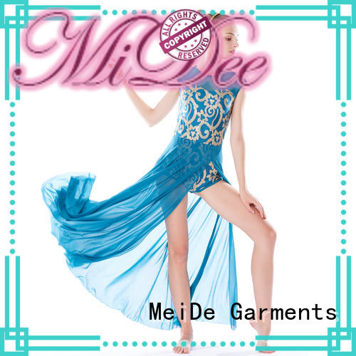 MIDEE OEM custom lyrical dance costumes dance clothes performance