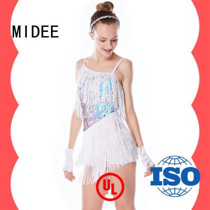 odm jazz outfits ladies contrasting customization dance school