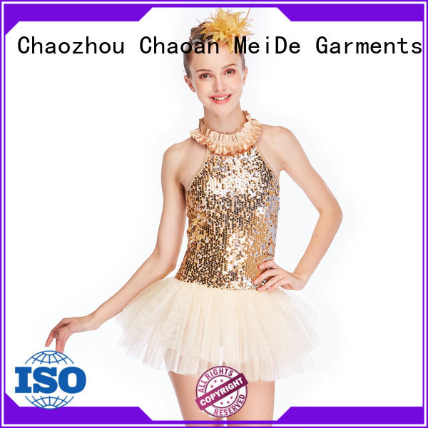 MIDEE adjustable ballet outfits odm competition