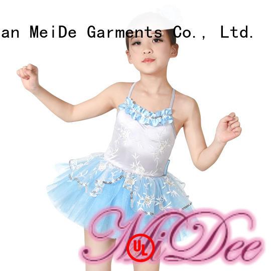 MIDEE adjustable kids ballet clothes factory price show