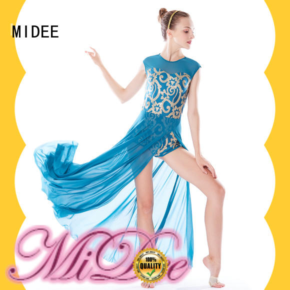 MIDEE customization lyrical contemporary costumes dance clothes show