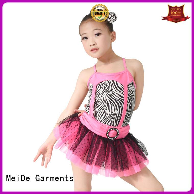 MIDEE adjustable womens ballet leotards bulk production dance school